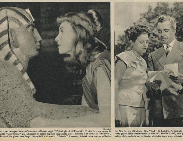 inchiesta sul cinema italiano luglio 1948