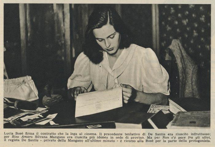 Lucia Bosè 1949