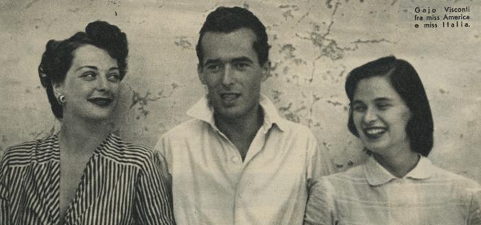 Marilyn Buferd Gaio Visconti Lucia Bosé