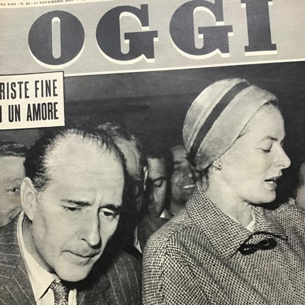 Triste fine di un amore: Ingrid Bergman e Roberto Rossellini