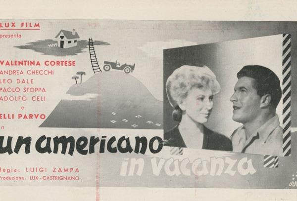 Un americano in vacanza regia di Luigi Zampa