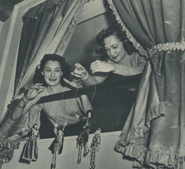 Doris e Constance Dowling