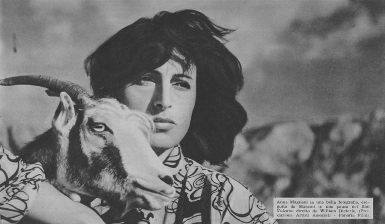 Anna Magnani in Vulcano di William Dieterle