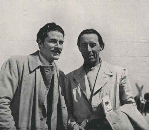 Amedeo Nazzari e Goffredo Alessandrini