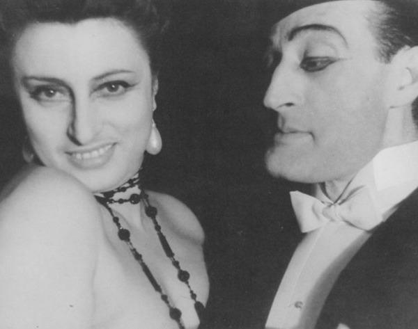 Anna Magnani e Totò