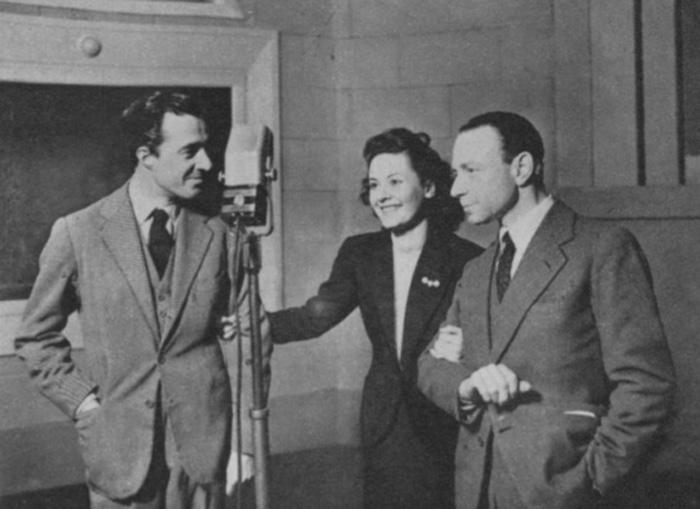 Vittorio De Sica, Maria, Denis e Umberto Melnati