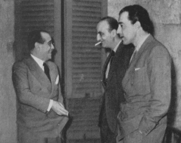Cesare Giulio Viola, Adolfo Franci e Vittorio De Sica